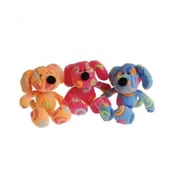 US Toy Plush Rainbow Swirl Dogs - 12 Per Pack - Pack of 2 (USTCYC175318)