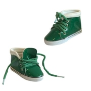 New York Doll Collection Leather Sneaker Green (NYDC1139)