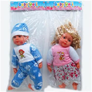 DDI 24 in. Baby Doll, Assorted Color (DLR340019)