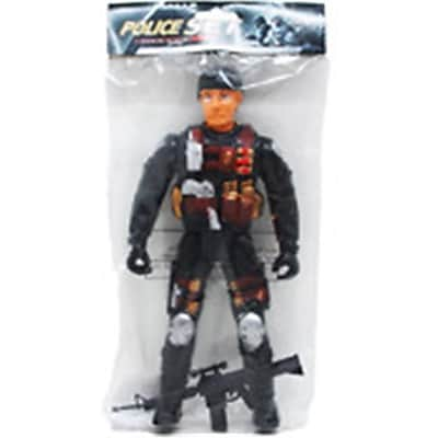 DDI 10.75 in. Police Action Figures (DLR340077)