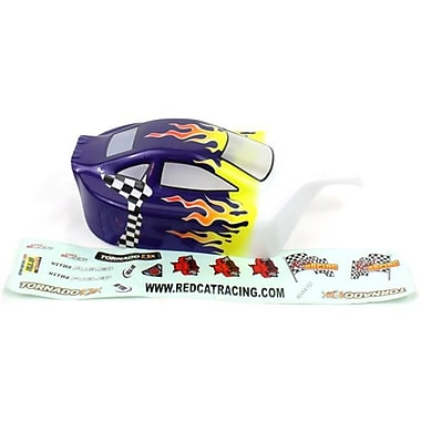 Redcat Racing 110 Buggy Body Flame, Green (RCR5331)