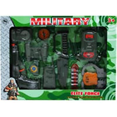 DDI 12 Piece Military Playset - Green