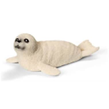 Schleich North America Seal Cub Toy Figure - White (TRVAL97385)