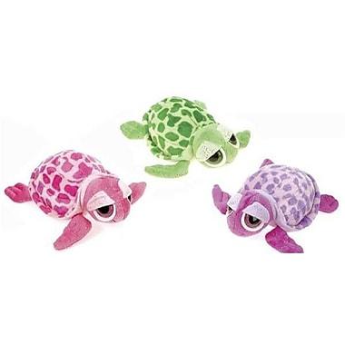 DDI 8 in. 3 Asst. Color Glittered Big Eyed Turtle, Case of 36 (DLR361987)