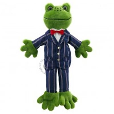 Puppet Company Dressed Animal Puppet, Frog -