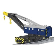 SP Whistle Stop Operating Command Control Crane Car with Legacy, CSX (STVN2271)
