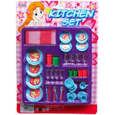 DDI 36 Piece Kitchen Play Set - Assorted Color (DLR340120)