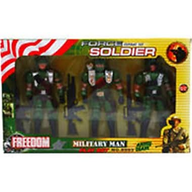 Arcady 3 Piece Force Combat Soldiers, Assorted (DLR340006)