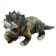 Puppet Company Dinosaur Hand Puppet, Triceratops (PUPTC058)