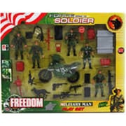Arcady 24 Piece Force Combat Soldiers - Assorted Color (DLR340009)