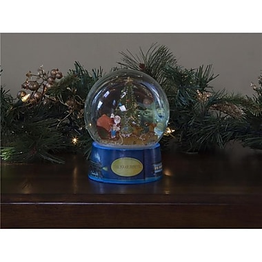 SP Whistle Stop Polar Express North Pole Tree Light Up Water Globe (STVN2389)