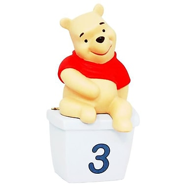 Rock Bottom Deals Disney Winnie the Pooh Three is for Days Filled with Laughter Figurine - Case of 24 (RKBM5121)