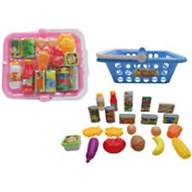 DDI 2 - 4 in. Jumbo Kitchen Basket Play Set, Assorted Colors (DLR339535)