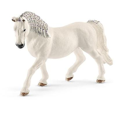 Schleich North America Lipizzaner Mare Toy Figure, White (TRVAL103025) 24129130