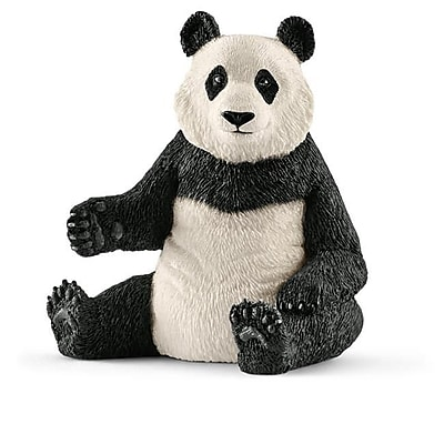 Schleich North America Giant Panda Toy Figure, Black & White (TRVAL102471) 24129125