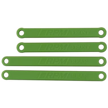 RPM Heavy-Duty Camber Links for Traxxas Electric Rustler and Stampede - Green (RCHOB1792)