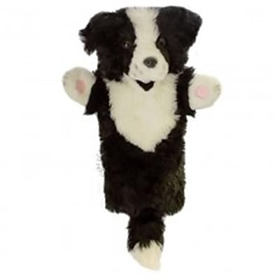 Puppet Company Long-Sleeved Glove Puppet, Border Collie