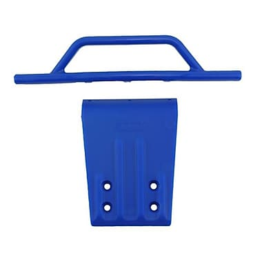 RPM Front Bumper and Skid Plate for Traxxas Slash 2WD - Blue (RCHOB1627)
