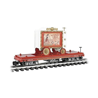 SP Whistle Stop G Ringling Brothers & Barnum & Bailey Flat with Tableau Wagon No. 108 (STVN2064)