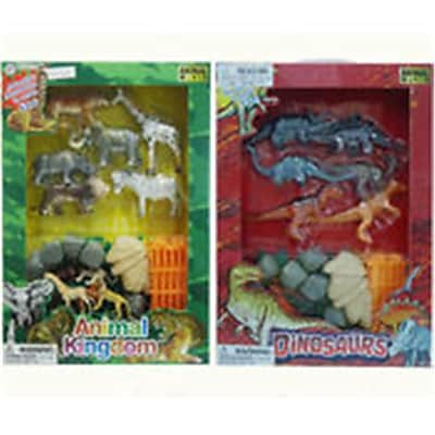 DDI Animal, Jungle, Farm & Ocean with Dinosaur - Assorted Color (DLR339594) 24133331