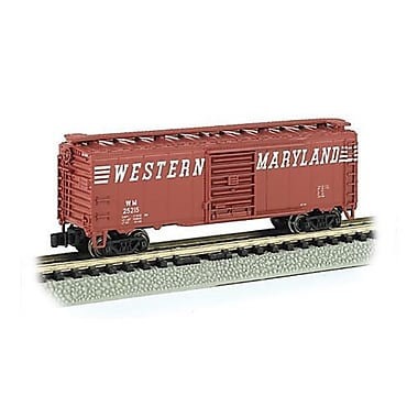 SP Whistle Stop 40ft. N Box Car Western Maryland (STVN2122)