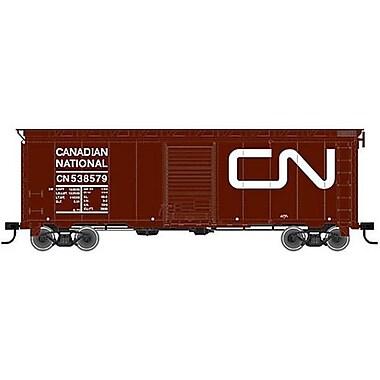 SP Whistle Stop HO 40 ft. Postwar Box Car, Canadian National No. 537422 (STVN1321)