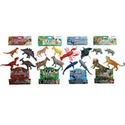 DDI 4 Piece Animal, Jungle, Farm, Ocean & Dinosaur - Assorted Color, Small (DLR339602) 24129593