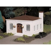Bachmann Williams O Police Station with Car Kit (SPWS1355)