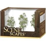 Bachmann 3 in.- 4 in. Aspen Trees - 3 (SPWS4592)