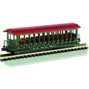 Bachmann Williams N JS Excursion Car Green and Red (SPWS956)