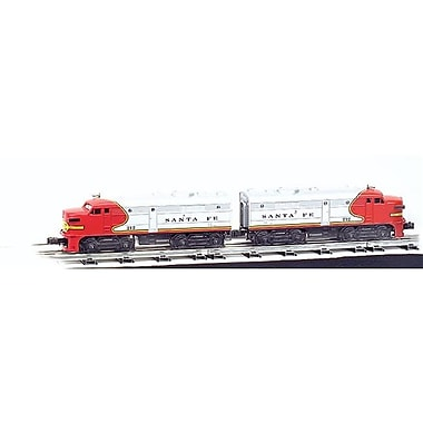 SP Whistle Stop O Scale 0-27 Santa Fe Train Set (STVN1905)
