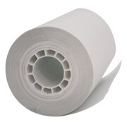 PMC 2.25 in. x 55 ft. Single Ply Thermal Cash Register & POS Rolls, White (SSN335)