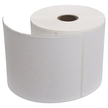 PMC 4 x 6 in. Industrial Direct Thermal Labels, White - 4 Rolls (SSN8153)