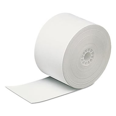 PMC 5344 3.12 in. x 440 ft. Direct Thermal Printing Thermal Paper Rolls, White (SSN438)