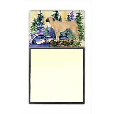 Caroline's Treasures Anatolian Shepherd Refillable Sticky Note Holder or Post-it Note Dispenser, 3 x 3 In. (CRLT60365)