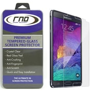 RND Accessories Samsung Galaxy Note 4 Premium Tempered Glass Screen Protector - 0.33 mm. (RNDP079)