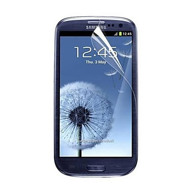RND Accessories 3-pk Screen Protector With Lint Cleaning Cloths For Samsung Galaxy S III, Ultra Crystal Clear (RNDP041)