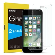 SPARIN Screen Protector for  iPhone se 5s 5 and 5c - Crystal Clear, Pack of 2 (SYBA7557)