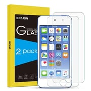 Arclyte Technologies This Sparin Tempered Glass Screen Protector is Specifically Designed - Crystal Clear, Pack of 2 (SYBA7387)