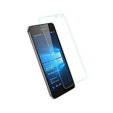 Reiko Nokia Microsoft Lumia 650 Tempered Glass Screen Protector, Clear (RKWL12339)