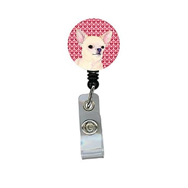 Caroline's Treasures Chihuahua Retractable Badge Reel Or Id Holder With Clip (CRLT29546)