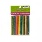 Krafters Korner Cg028 Multi-Color Wood Dowel Sticks Pack Of 12 (SWM15294)