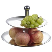 Visol 2 Tier Stainless Steel Cupcake or Fruit Stand (VISOL3768)