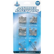 Great Lakes Wholesale 108 PC Safe Pin Assorted (TRVAL97403)