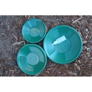 Make Your Own Gold Bars Green Gold Pans with Bottle Snuffer-Panning Kit-Mining, 8-10-12 in. - Lot of 3 (MKYG021)