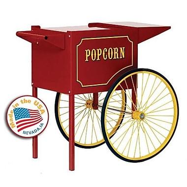 Paragon Medium Popcorn Machine Cart in Red (PRGI112)