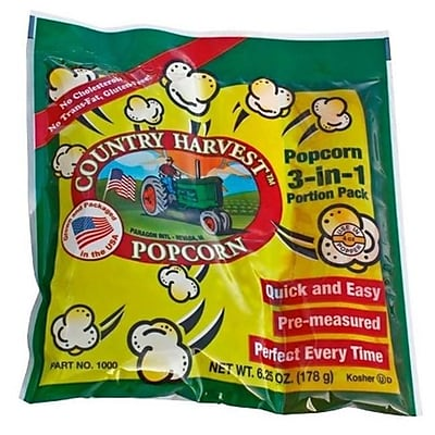 Paragon Country Harvest 4 oz. Tri-Pack Popcorn