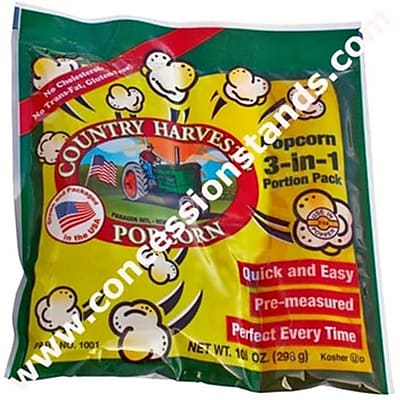 Paragon Country Harvest 8 oz. Tri-Pack Popcorn