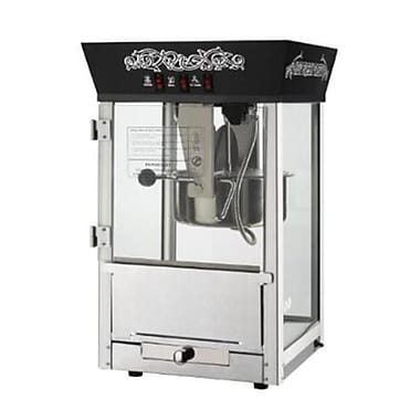 Great Northern Black Matinee Movie Eight Ounce Antique Popcorn Machine (DTXINT062)