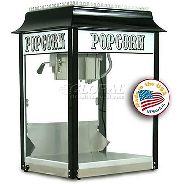 Paragon 8 oz. Popcorn Machine - Black/Chrome (PRGI054)